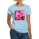 Pink azaleas t shirt Tops