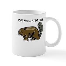 Custom Brown Beaver Mug