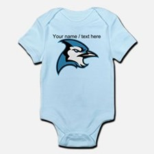Custom Blue Jay Mascot Body Suit