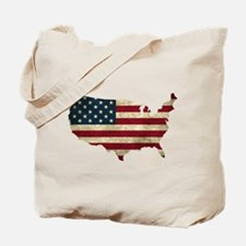 Vintage USA Tote Bag