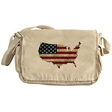 Vintage USA Messenger Bag