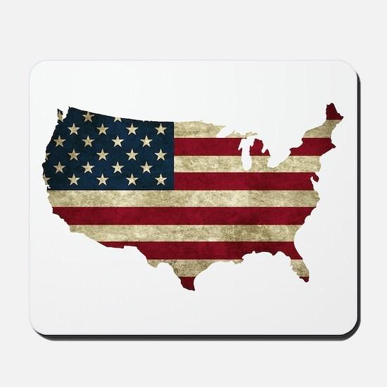 Vintage USA Mousepad