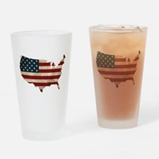 Vintage USA Drinking Glass