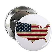 """Vintage USA 2.25"""" Button"""