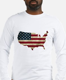 Vintage USA Long Sleeve T-Shirt