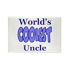 World's Coolest Uncle Rectangle Magnet