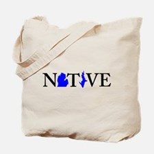 Native Michigander Tote Bag