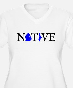 Native Michigander Plus Size T-Shirt
