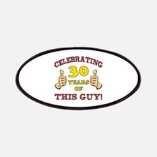 30th Birthday Gift For Him Patches