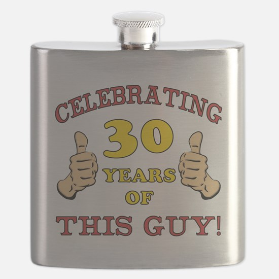 30th Birthday Gift For Him Flask