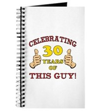 30th Birthday Gift For Him Journal