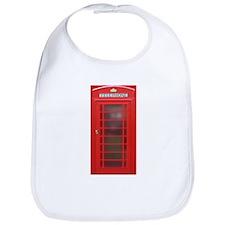 British Phone Booth Bib