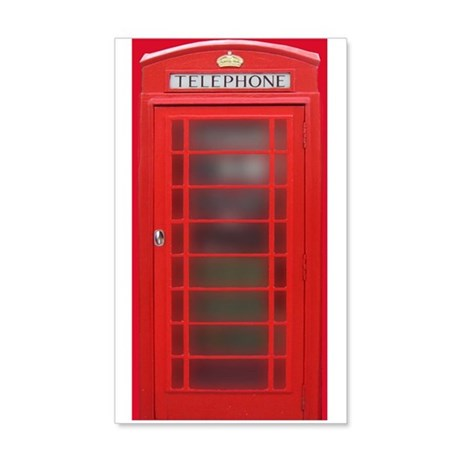 British Phone Booth Wall Decal