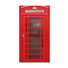 British Phone Booth Decal