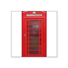 British Phone Booth Sticker