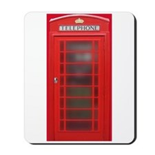 British Phone Booth Mousepad