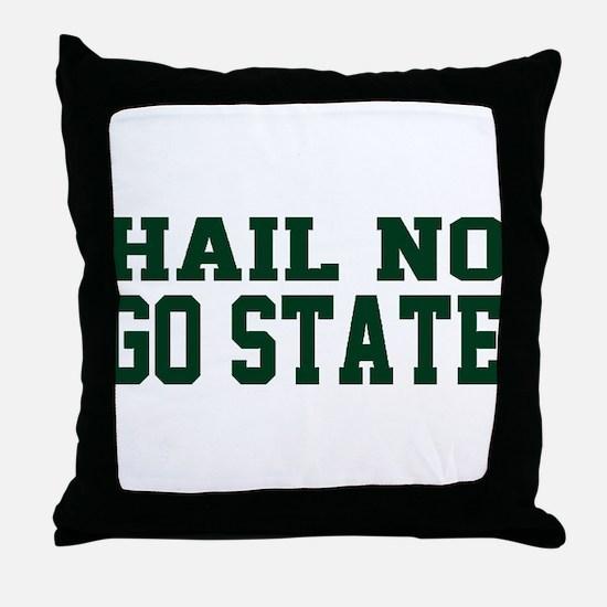 Hail NO Throw Pillow