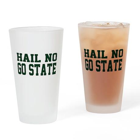 Hail NO Drinking Glass