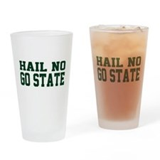 Hail NO Drinking Glass