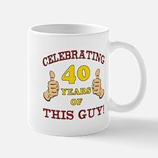 40th Birthday Gift For Him Small Small Mug