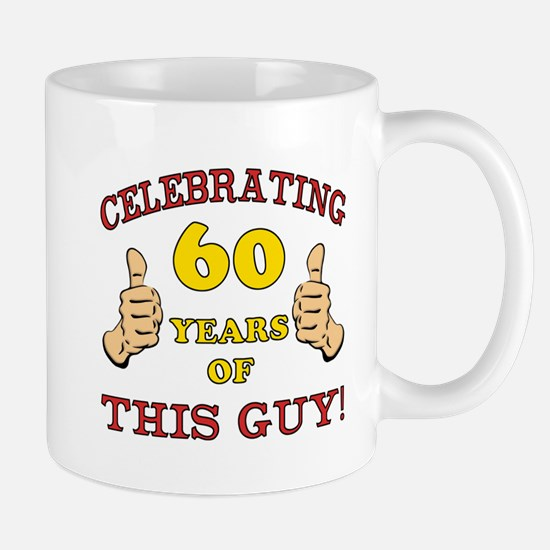 60th Birthday Gift For Him Mug