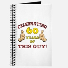 60th Birthday Gift For Him Journal