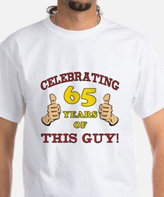 65th Birthday Gift For Him Shirt