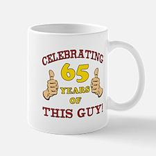 65th Birthday Gift For Him Mug