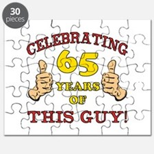 65th Birthday Gift For Him Puzzle