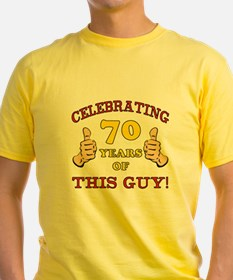 70th Birthday Gift For Him T