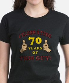 70th Birthday Gift For Him Tee