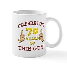 70th Birthday Gift For Him Mug