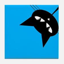 Curious Kitty Tile Coaster