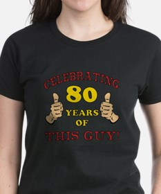 80th Birthday Gift For Him Tee