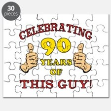 90th Birthday Gift For Him Puzzle