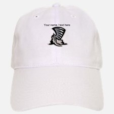 Custom Grey Tornado Mascot Baseball Baseball Baseball Cap