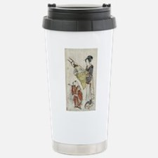 Bows And Arrows - anonymous - c1800 - woodcut Travel Mug