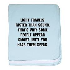Light Smart baby blanket