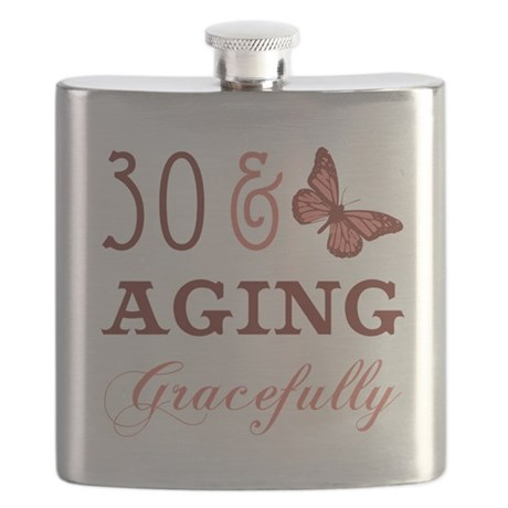 30 & Aging Gracefully Flask