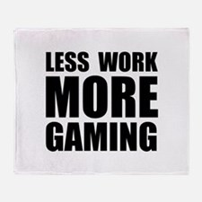 More Gaming Throw Blanket
