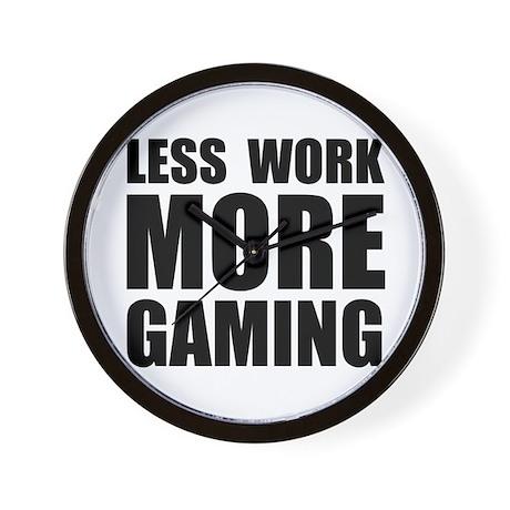 More Gaming Wall Clock