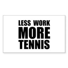 More Tennis Decal