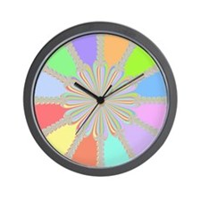 Newton Raphson Fractal Wall Clock