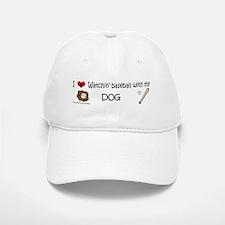 watchin baseball with my dog Baseball Baseball Baseball Cap