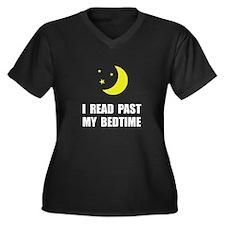 Read Past Bedtime Plus Size T-Shirt