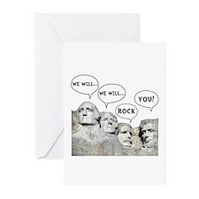 Rushmore Rock You Greeting Cards (Pk of 20)