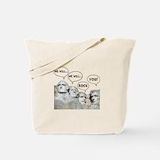 Rushmore Rock You Tote Bag