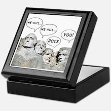Rushmore Rock You Keepsake Box