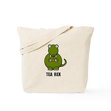 Tea Rex Dinosaur Tote Bag