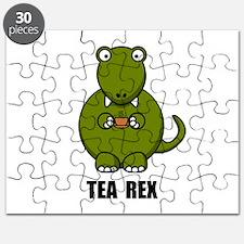 Tea Rex Dinosaur Puzzle